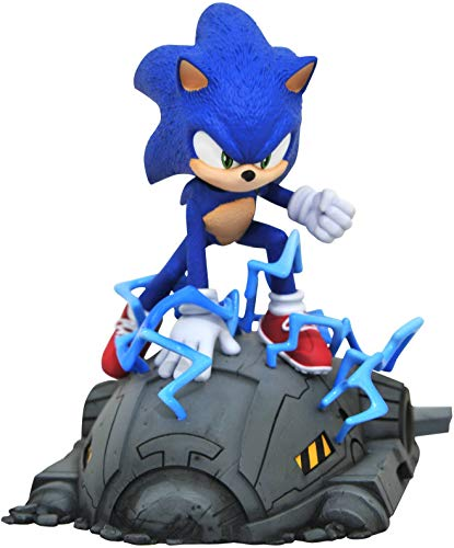 DIAMOND SELECT TOYS Sonic Movie 1:6 Scale Statue, Multicolor