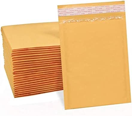 200 pcs kraft padded Store Recommended mailer6x9