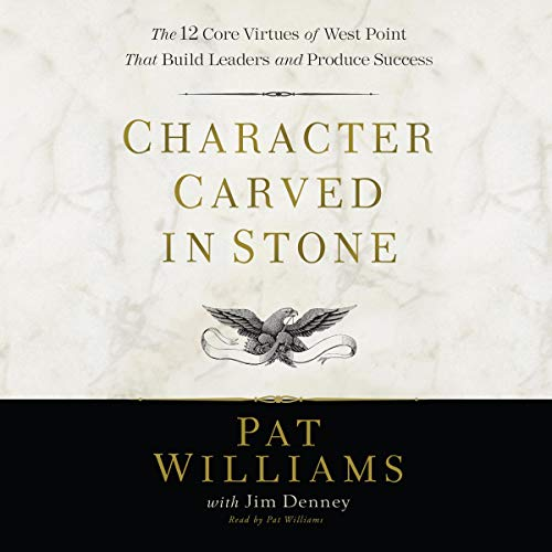 Character Carved in Stone audiobook cover art