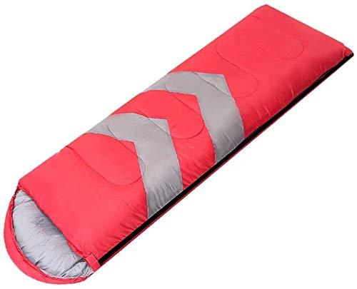 Hammer Sac de Couchage, Sac à Dos - Chaud et léger Temps Froid Sacs de Couchage for Adultes, Enfants et Couples - Idéal for la randonnée, Camping & Outdoor Adventures (Color : Red, Size : 1.6kg)