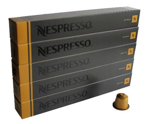 Nespresso Cápsulas originales Espresso Volluto, 50Cápsulas