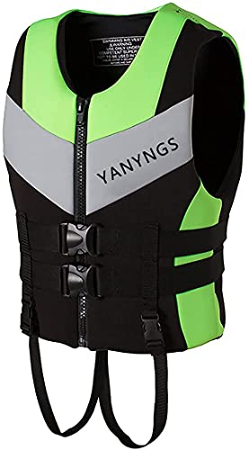 YZJL Chaquetas y Chalecos salvavidasChaqueta de natación para Adultos Chaleco de Impacto Canoa Kayak y Bote de Vela Ligera Chaleco de flotabilidad