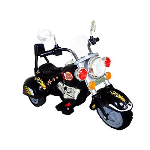Vehículos infantiles moto Chopper 2,5 km/h, batería negra, vehículos eléctricos