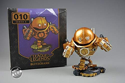N2 LOL League of Legends Figure Action Varus Valentine's Skin Model Toy Action-Figure Game Heros Action Figure Model Toy Gift Blitzcrank
