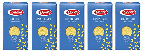 Barilla 5X Puntine No. 23 Italian Pasta for Children 500g Pack