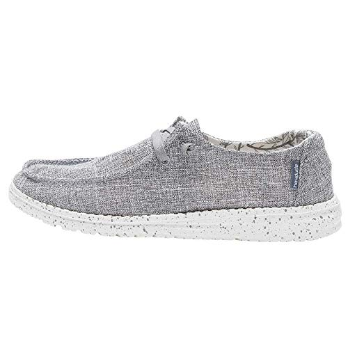 Hey Dude Women's Wendy L Linen Iron, Size 7