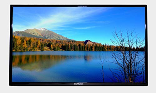 """Free Signal TV Transit 28"""" 12 Volt DC Powered LED Flat Screen HDTV with Integrated DVD Player for RV Camper and Mobile Use"""