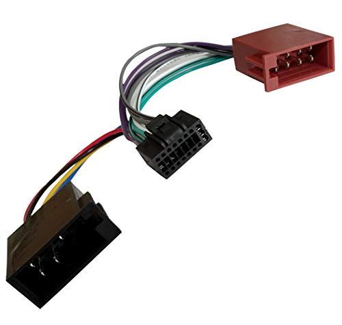 AERZETIX Z2ISO Konverter/Adapter/Kabel Radio Adapter Kabel Stecker ISO-Kabel Verbindungskabel für Pioneer