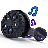 TOMOLOO 6.5' Off Road Hover Board All Terrain Tires, Heavy Duty Hoverboard for Adults with UL2272 Certification, Bluetooth Hoverboard Self Balancing Scooter w/LED Wheels and Lights