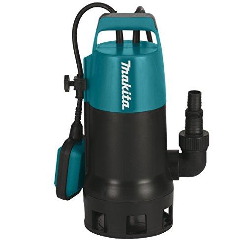 Makita PF1010 elektrische Tauchpumpe, Schmutzwasser bis 35 mm Partikelgröße, 1100 W