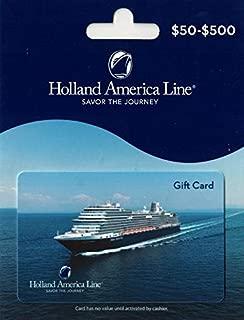 Holland America Gift Card