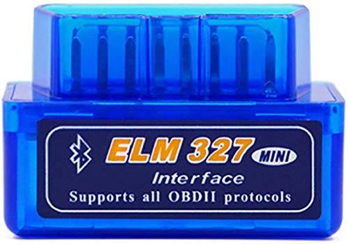 Bolongking OBD II - Lector de diagnóstico de coche, ELM327, conexión Bluetooth, comprobación de la luz del motor para Android