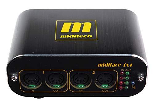 MIDITECH MIDIFACE4x4 4入力4出力MIDIインターフェース