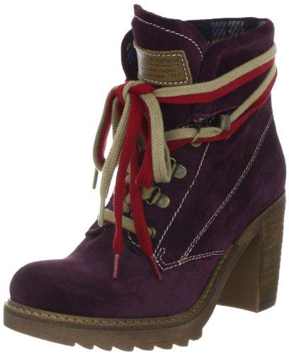 Tamaris Damen Fashion Halbstiefel & Stiefeletten, Violett (VINO 502), 40 EU