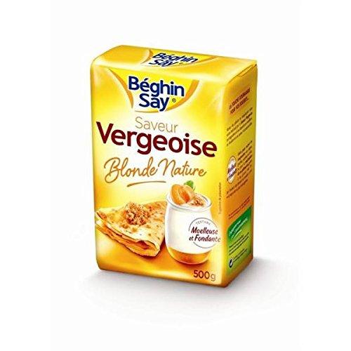 Beghin Say saveur vergeoise blonde nature 500g - ( Prix Unitaire ) - Envoi Rapide Et Soignée