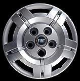 Generico Fiat DUCATO COPRICERCHIO BORCHIA Quattro (4) FURGONI E Camper 1301 DIAM 16 Logo Blu