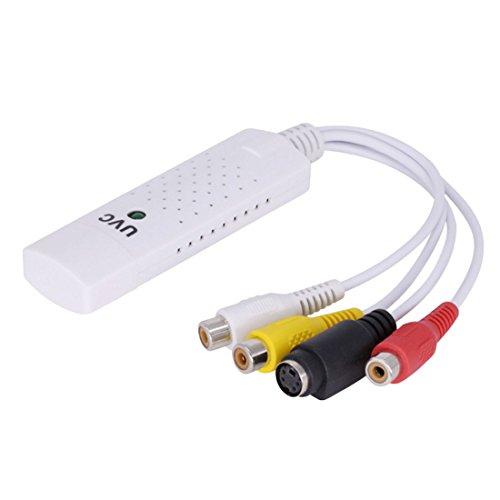 USB 2.0Video Capture Adapter TV DVD VHS DVR Grabber