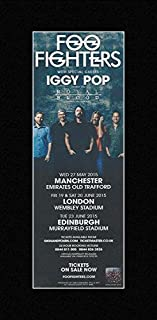 Best foo fighters 2015 tour poster Reviews