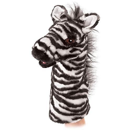Folkmanis Handpuppe Puppet 2565 Zebra