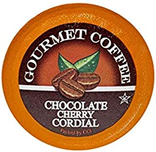 Chocolate Cherry Cordial Gourmet Coffee, 35 Single Serve Cups