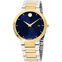 Movado Modern Classic Quartz Blue Dial Men's Watch