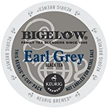 Bigelow K-Cup for Keurig Brewers, Earl Grey Tea (Pack of 96)