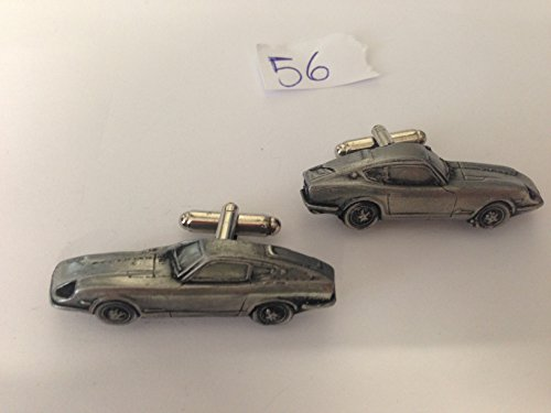 Datsun 240 Z 3D Boutons de manchette Boutons de manchette voiture classique effet étain ref56