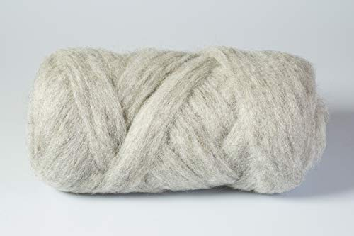 Lana XXL gris jaspeado / tubo de punto XL en 12 colores / 100% natural / 390 g, 3-4 cm de grosor / Supersuave para tejer brazo XXL para manta, bufanda, cojines, manta / respaldo Stylit
