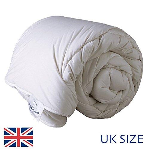 Devon Duvets - British Handcrafted Natural Woollen (Wool) Duvet Spring/Autumn Medium Weight 600gsm (Double 200 x 200 cm)