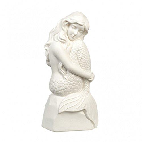 Grasslands Road Porcelain Mermaid Night Light (Automatic 4 Hour Timer)
