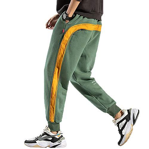 Seitenstreifen Sporthose Herren Neue Jogginghose Herrenmode Streetwear Hip-Hop Hose Herren Locker Sitzende Haremshose
