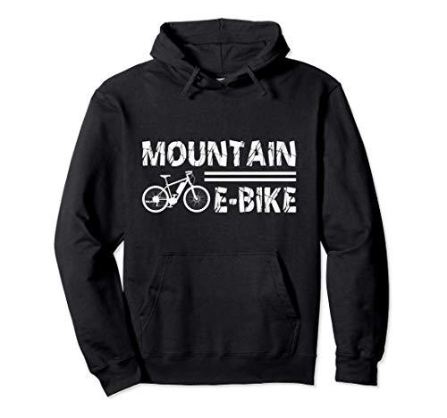 Montaña E-Bike Ciclismo Ebike Bicicleta eléctrica Regalo Sudadera con Capucha