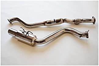 Invidia (HS08SW5GTP) N1 Cat-Back Exhaust System with Stainless Steel Tip for Subaru WRX 5-Door