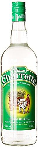 Rhum Charrette blanc 49° 1L