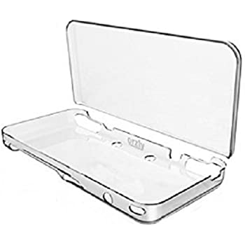 New 2DS XL Case, Orzly InvisiCase for NEW Nintendo 2DS XL (2017 Model) - 100% CLEAR Protective Cover Shell for the New (Foldable Screen Version) of Nintendo 2DSXL Handheld Games Console - TRANSPARENT