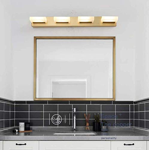 Duurzaam Toilet Hele Koplamp Nordic Bronze Spiegel Badkamer Spiegel Slaapkamer Spiegelkast Lampen Led Amerikaanse Toilet Wandlamp D25 * H6cm, D40 * H6cm, D55 * H6cm Verlichten Uw Leven ( Afmeting: 5