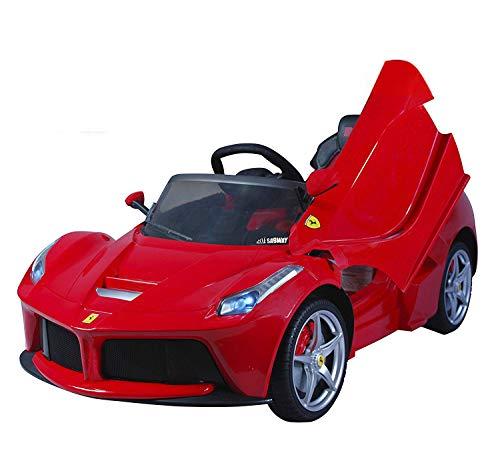 Coche eléctrico para niños 12V con mando - Ferrari LaFerrari - Con licencia original