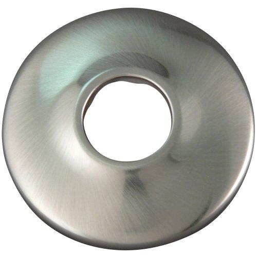 Plumb Pak K91BN Keeney Shallow Flange, 1/2-in. IPS, Brushed Nickel