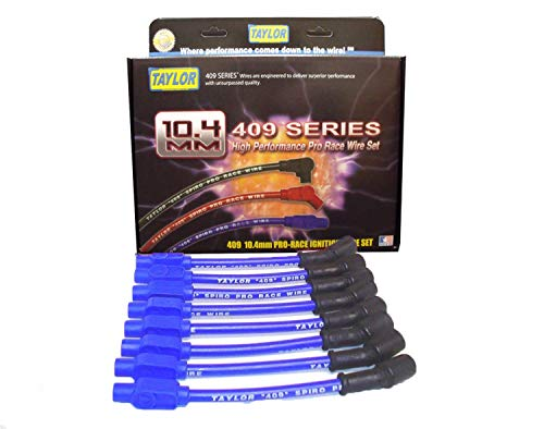 Taylor Cable 79214 409 Spiro-Pro 10.4mm Ignition Wire Set