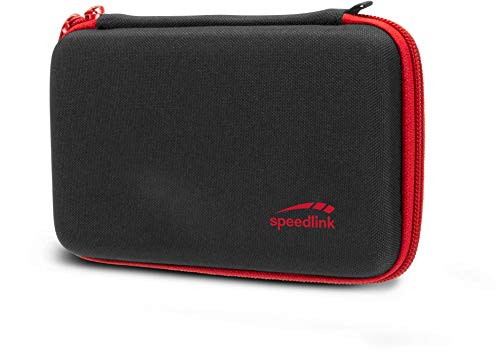 Photo of Speedlink Caddy Padded Storage Case for N2DS XL – Soft inner Padding, Red