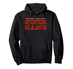 Bang Bang Niner Gang Football Cloths 8.5 oz, Classic fit, Twill-taped neck
