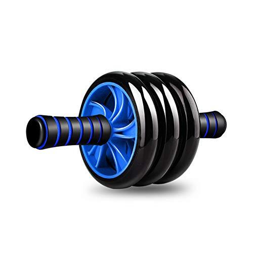 ZFMG Rueda Fitness Hipopresivos para Ejercicios AB Abdominal Aparato Entrenamiento Rodillo Entrenamiento Ancho Seguridad Gimnasio En Casa Mudo Antideslizante,M