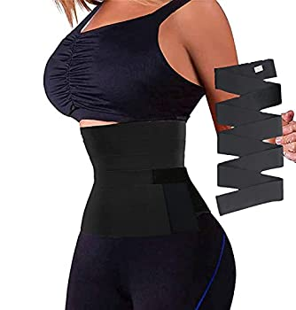 Waist Trainer for Women,Snatch Me Up Bandage Wrap Lumbar Waist Support Belt,Adjustable and Comfortable Backrest for Lower Back Pain Relief
