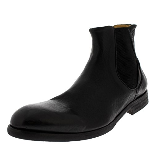 H by Hudson Mens Watchley Calf Chelsea Smart Leather Formal Ankle Boots - Black - 13