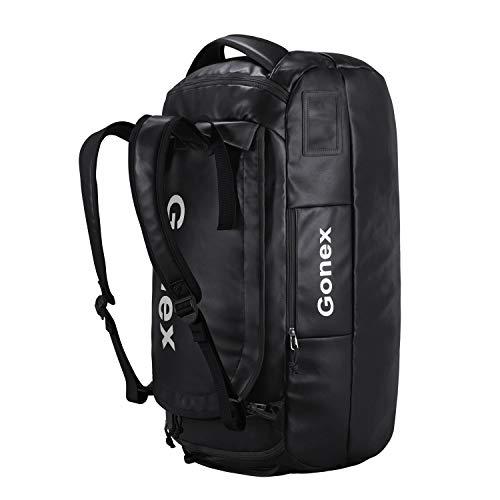 Gonex 60L Rucksack wasserdichte Reisetasche Wanderrucksack für Wandern, Camping, Reisen, Radfahren