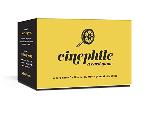 Compare Textbook Prices for Cinephile: A Card Game  ISBN 9781984825575 by Everett, Cory,Isaacs, Steve