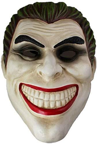 XDHN Hochwertiges Harz Clown Batman Dark Knight Joker Erwachsenenhandbuch Requisite Filmcharaktere Dress Up Kostüm