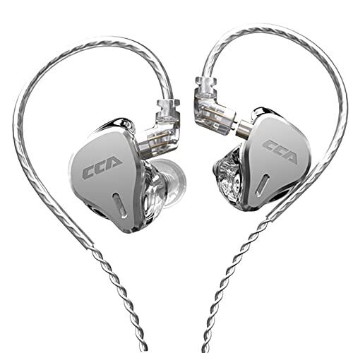 Professionele monitor Oortelefoon, Stereo hoogwaardige harsholte Bedrade oordopjes met afneembare kabel voor opnemen…