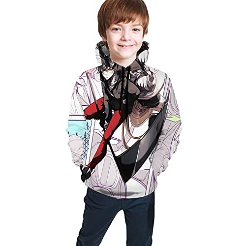 Angels Of Death Anime Teen Hoodie Sweate Pockets Boys Girls Casual 3d Digital Print Unisex Pullover Sweatshirts Fashion Sweaters Large