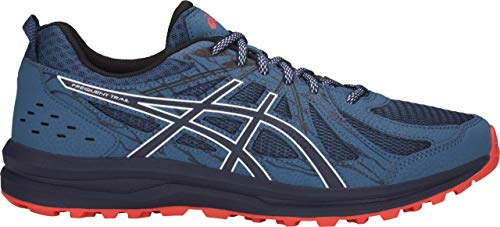 ASICS Frequent Trail Men's Running Shoe, Grand Shark/Black, 12 D US